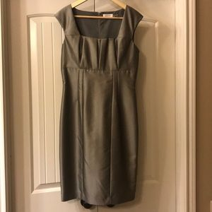 Calvin Klein gray dress